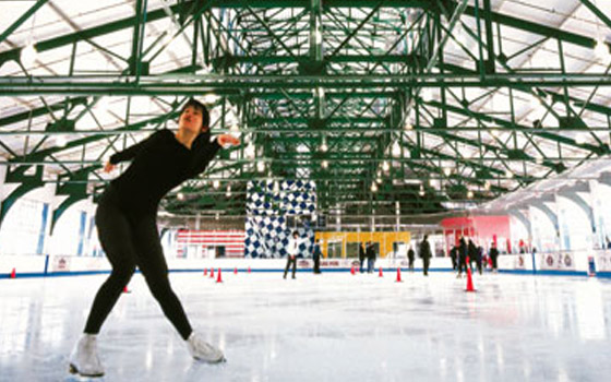 Ice Skating Rinks in NYC 2015-16 Season: Sky Rink at Chelsea Piers, YourNeighborhood.co