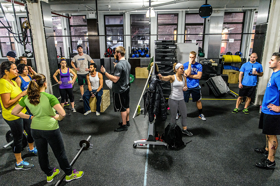 The Top Crossfit Gyms In NYC