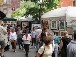 Washington Square Outdoor Art Exhibit: YourNeighborhood.co