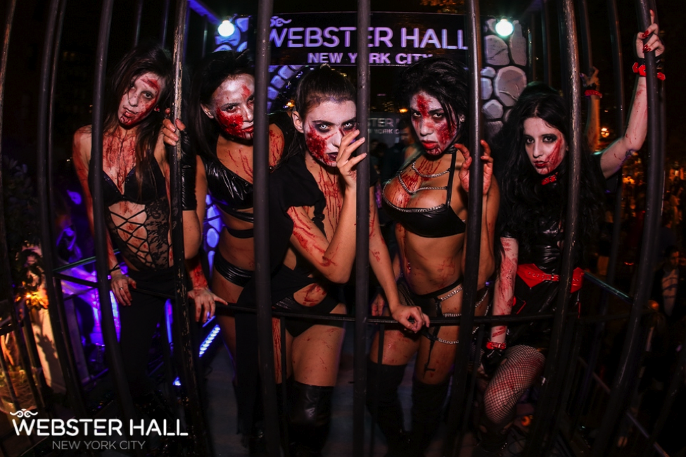 sexiest halloween parties in nyc 2015 webster hell yourneighborhoodco - Halloween Nyc Party
