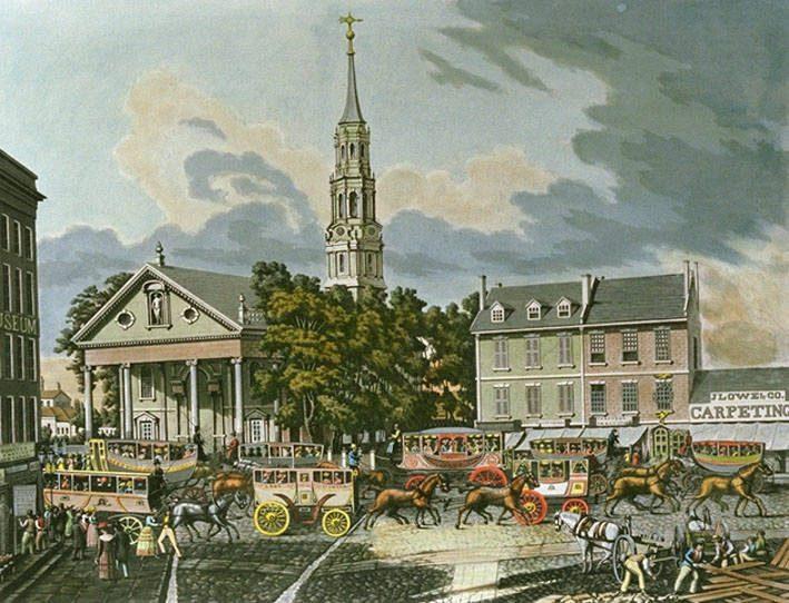 St Paul S Chapel Nyc A History Yourneighborhood